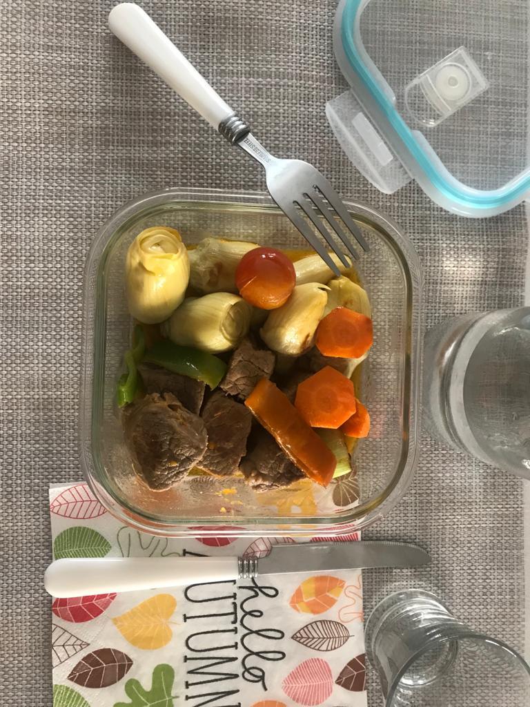 Recetas fáciles de carne con alcachofa